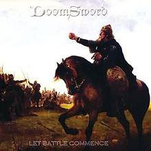 Doomsword - Let Battle Commence [white - 500], LP