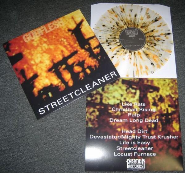 Godflesh - Streetcleaner [clear splatter], LP