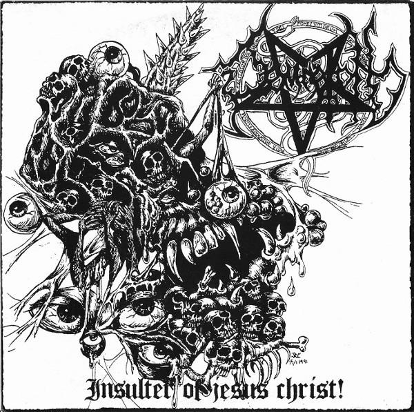"Damnation - Insulter Of Jesus Christ, 7"""