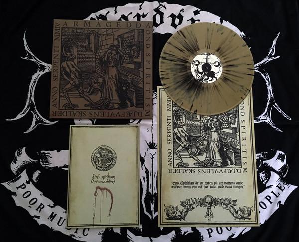 Armagedda - Ond Spiritism (gold splatter - 300), LP