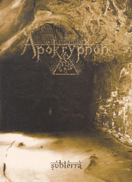 Apokryphon - Subterra, A5-DigiCD