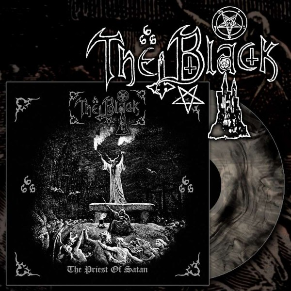 The Black - The Priest of Satan [clear/black galaxy vinyl - 500], LP
