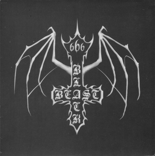 "Black Beast - s/t, 7"""