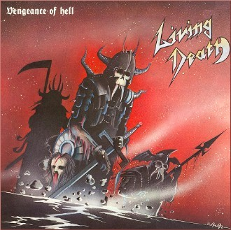 Living Death - Vengeance Of Hell, SC-CD
