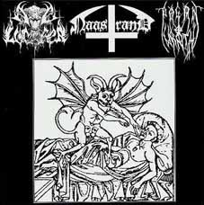 Ave Lucifer/Naastrand/Pagan Wrath - Split, CD