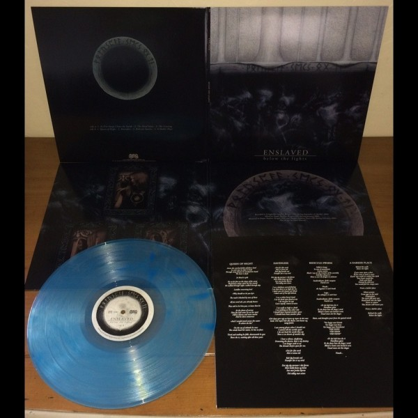 Enslaved - Below The Lights [blue marble - 500], LP