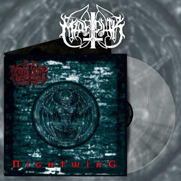 Marduk - Nightwing [silver/clear marble - 300], LP