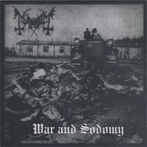 Mayhem - War & Sodomy, CD