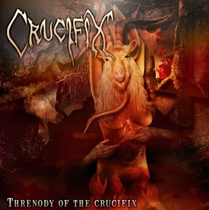 Crucifix (Dnk) - Threnody Of The Crucifix, CD