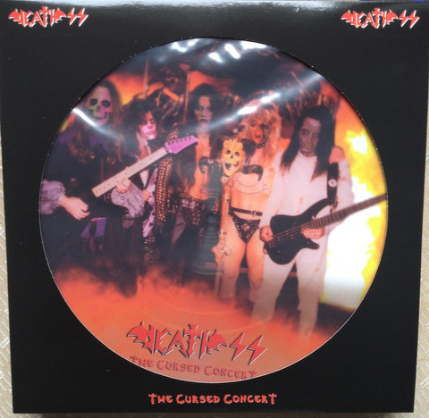 Death SS - The Cursed Concert, PicLP