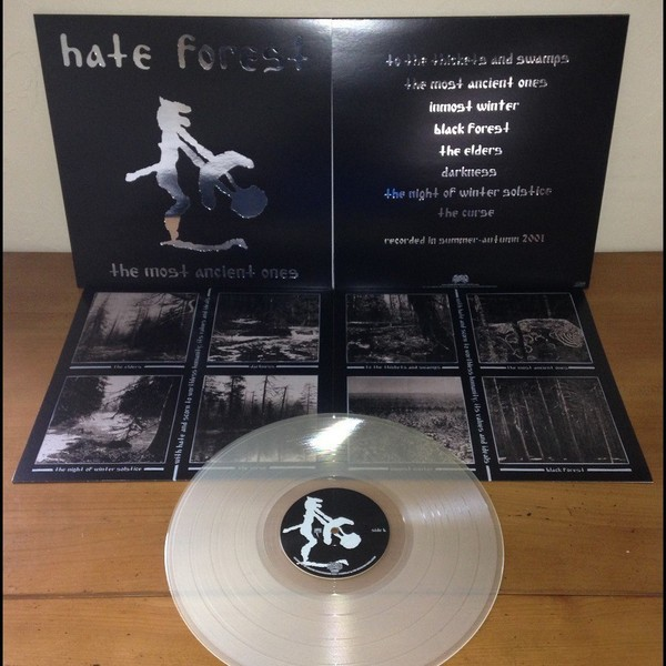 Hate Forest - The Most Ancient Ones [clear - 300], LP