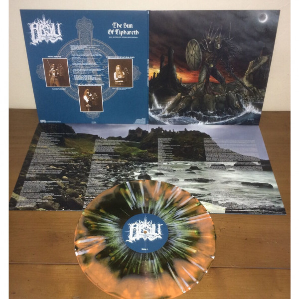 Absu - The Sun of Tiphareth [green/orange swirl - 400], LP