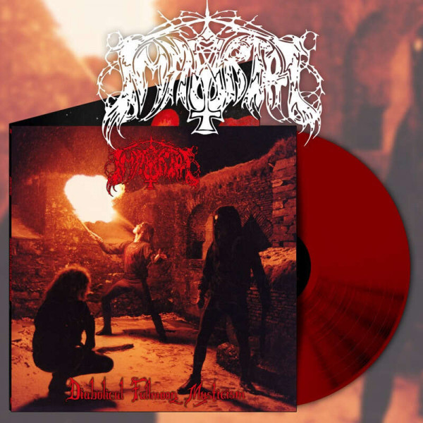Immortal - Diabolical Fullmoon Mysticism [red/highlighter yellow - 700], LP