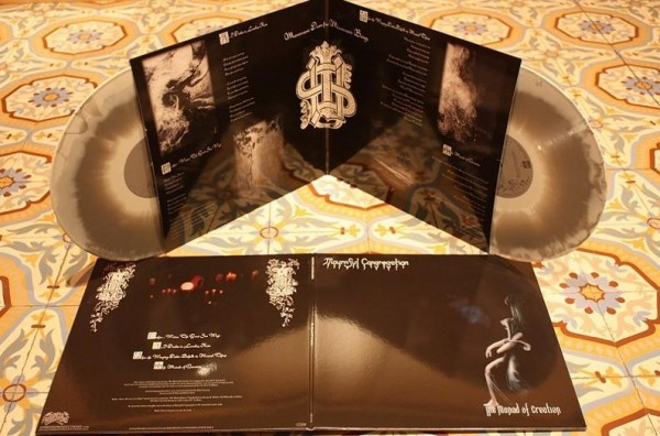 Mournful Congregation - The Monad Of Creation [grey/white], 2LP
