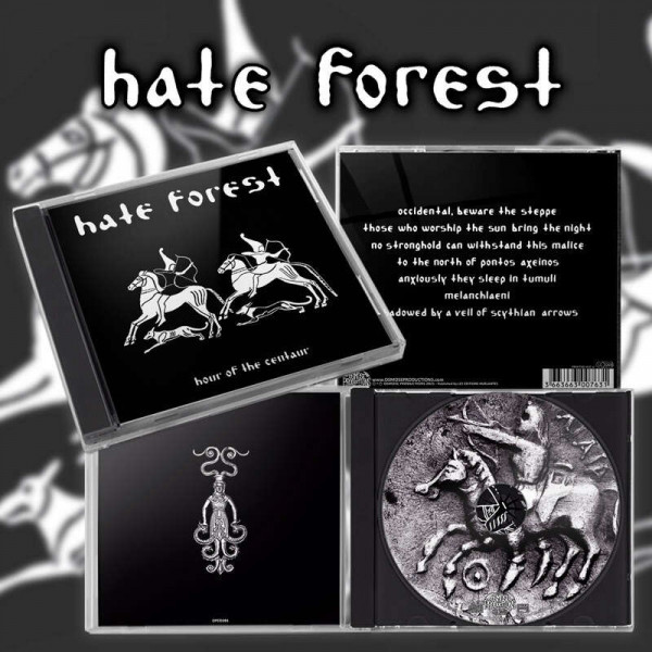 Hate Forest - Hour Of The Centaur, CD