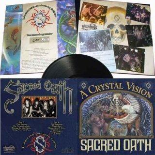 Sacred Oath - A Crystal Vision [black - 350], LP