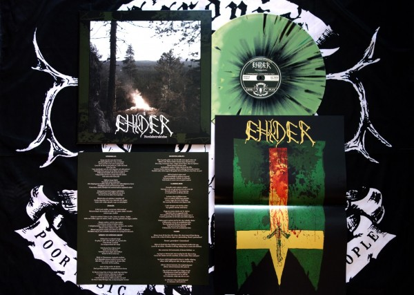 Ehlder - Nordabetraktelse [green splatter - 200], LP