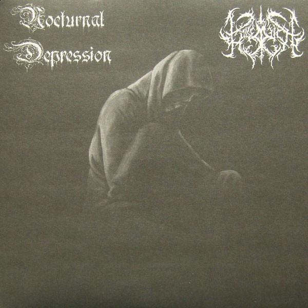 Nocturnal Depression / Kaiserreich - Split, 7''