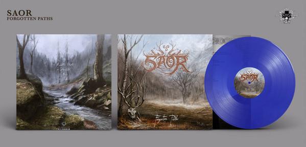 Saor - Forgotten Paths [royal blue - 150], LP