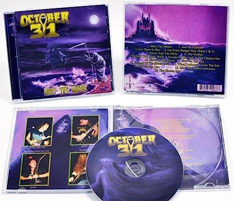 October 31 - Meet Thy Maker, CD