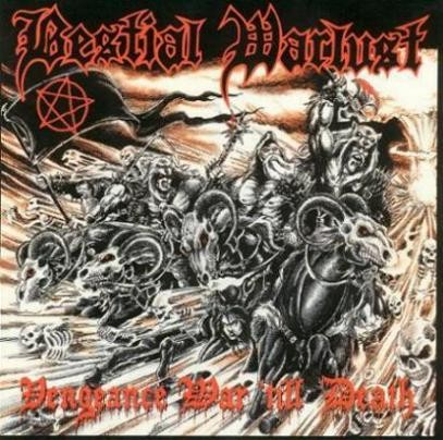 Bestial Warlust - Vengeance War Till Death, CD