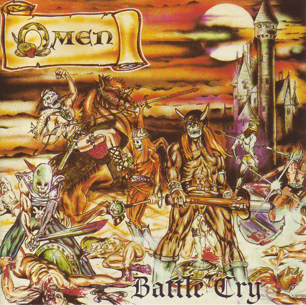Omen - Battle Cry, CD