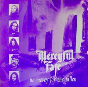 Mercyful Fate - No Mercy For The Fallen [light blue], LP