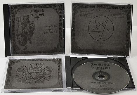 Impious Baptism - Wrath Of The Apex Predator, CD