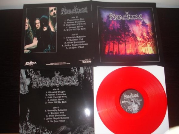 Merciless (Swe) - s/t [red], LP