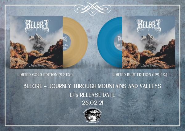Belore - Journey Through Mountains & Valleys, LP