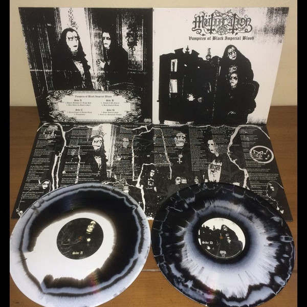 Mütiilation - Vampires Of Black Imperial Blood [white/black swirl - 500], 2LP