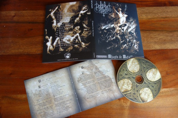 Belenos - Chants de Bataille [ltd. 500], A5-DigiCD