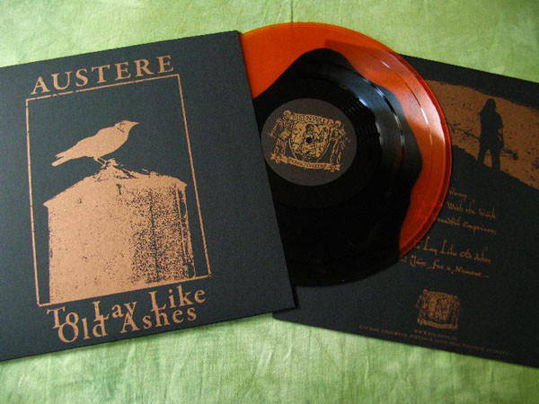 Austere - To Lay Like Old Ashes [orange/black], LP