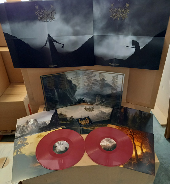 Caladan Brood - Echoes Of Battle [oxblood - 300], 2LP