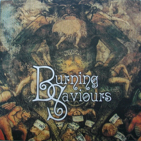 Burning Saviours - s/t [clear - 500], LP