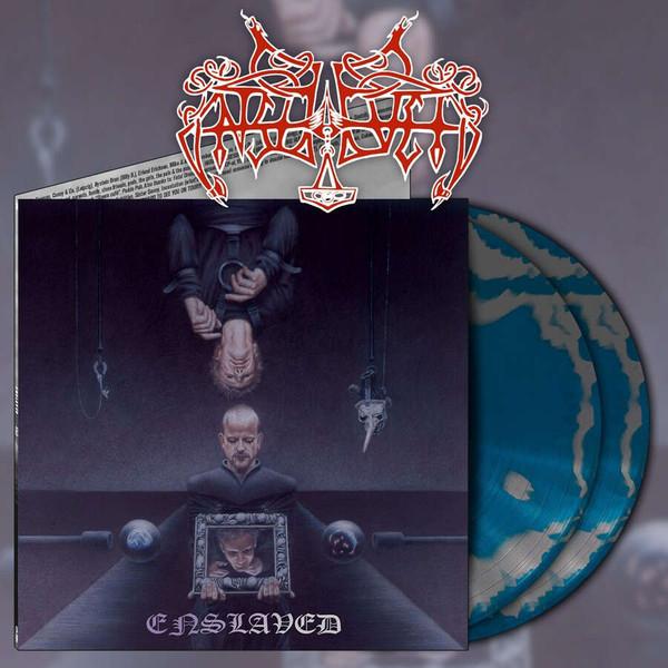 Enslaved - Monumension [silver/sea blue swirl - 300], 2LP