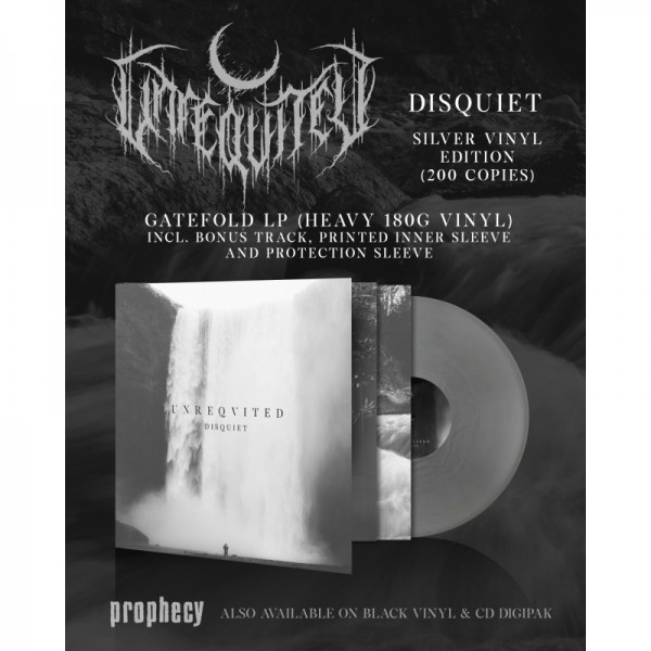 Unreqvited - Disquiet [silver - 200], LP