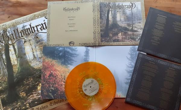 Gallowbraid - Ashen Eidolon [orange/turquoise splatter - 333], LP