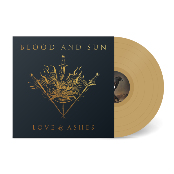 Blood and Sun - Love & Ashes (gold - 500), LP