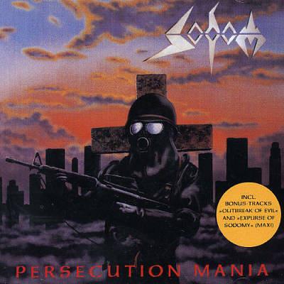 Sodom - Persecution Mania, CD