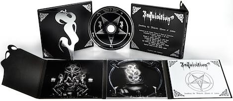 Inquisition - Invoking The Majestic Throne Of Satan [TOME], DigiCD