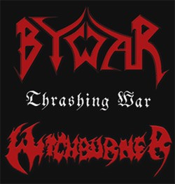 Witchburner/Bywar - Thrashing War, DigiCD
