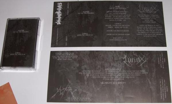 Austere/Lyrinx-Only The Wind Remembers/Ending The Circle Of Life, MC
