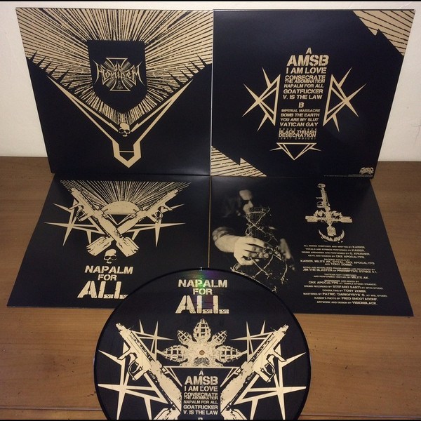 Ad Hominem - Napalm for All, PicLP