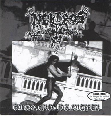 Nebiros - Guerreros De Lucifer, CD