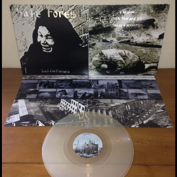 Hate Forest - Battlefields [clear - 300], LP