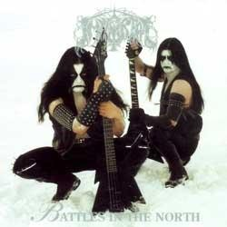Immortal - Battles In The North [white - 200, 2010 press], LP