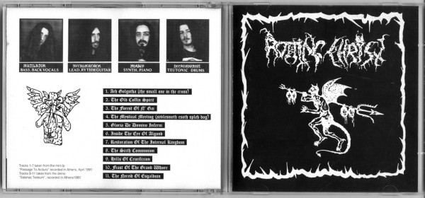 Rotting Christ - The Mystical Meeting, CD