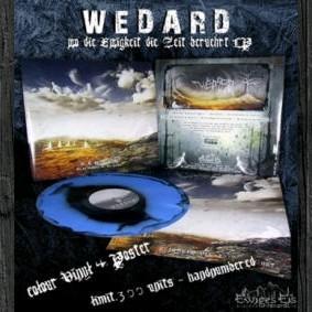Wedard - Wo die Ewigkeit die Zeit berührt [blue/black blend - 300], LP