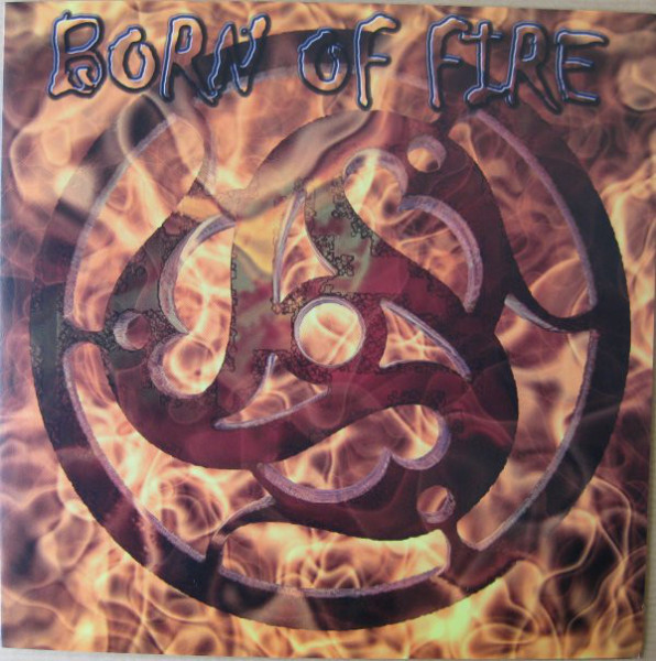 """Born Of Fire - Chosen By The Gods, 7"""""""